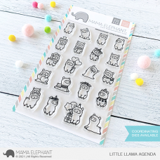 Mama Elephant - Little Llama Agenda