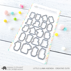 Mama Elephant - Little Llama Agenda Creative Cuts