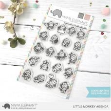 Mama Elephant - Little Monkey Agenda