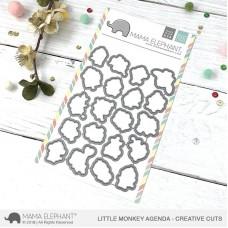 Mama Elephant - Little Monkey Agenda Creative Cuts