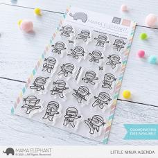 Mama Elephant - Little Ninja Agenda