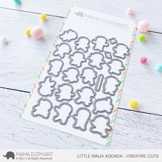 Mama Elephant - Little Ninja Agenda Creative Cuts