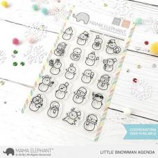 Mama Elephant - Little Snowman Agenda