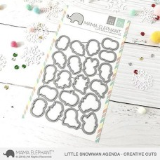 Mama Elephant - Little Snowman Agenda Creative Cuts