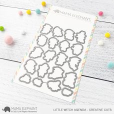 Mama Elephant - Little Witch Agenda Creative Cuts