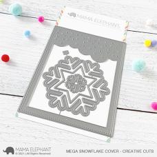 Mama Elephant - Mega Snowflake Cover Creative Cuts