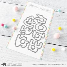 Mama Elephant - Merrygrams AEIOUY Creative Cuts