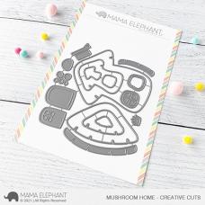 Mama Elephant - Mushroom Home Creative Cuts