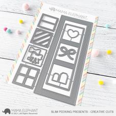 Mama Elephant - Slim Peeking Presents Creative Cuts