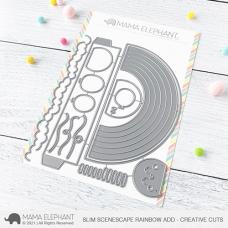 Mama Elephant - Slim Scenescape Rainbow Add Creative Cuts