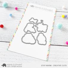 Mama Elephant - Stay Warm Creative Cuts