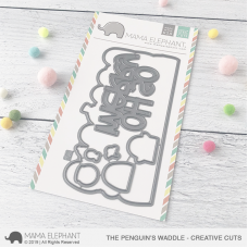 Mama Elephant - The Penguin's Waddle Creative Cuts