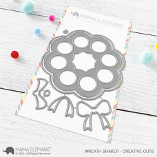 Mama Elephant - Wreath Shaker Creative Cuts