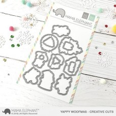 Mama Elephant - Yappy Woofmas Creative Cuts