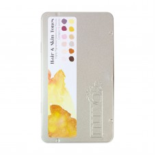 Nuvo - Watercolour Pencil - Hair & Skin Tones (12 pieces)