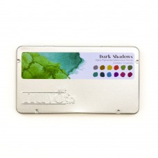 Nuvo - Watercolour Pencil - Dark Shadows (12 pieces)