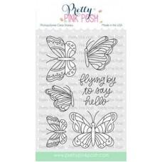 Pretty Pink Posh - Beautiful Butterflies