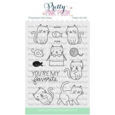 Pretty Pink Posh - Cuddly Cats