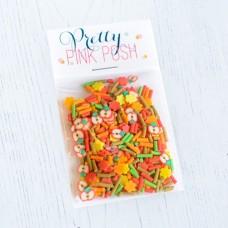 Pretty Pink Posh - Clay Embellishments - Fall Harvest
