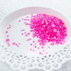 Pretty Pink Posh - Flamingo Pink Jewels