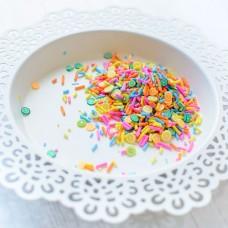 Pretty Pink Posh - Clay Embellishments - Fruit Smoothie