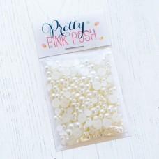Pretty Pink Posh - Ivory Pearls