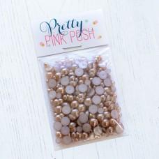 Pretty Pink Posh - Latte Pearls