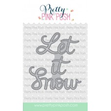 Pretty Pink Posh - Let It Snow Script Die