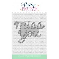 Pretty Pink Posh - Miss You Script Die