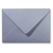 Envelope Metallic - 110 x 156 mm - Silver