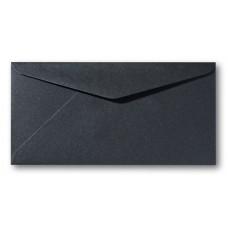 DL Envelope Metallic - 110 x 220 mm (slimline) - Black