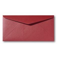 DL Envelope Metallic - 110 x 220 mm (slimline) - Rosso