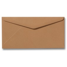 DL Envelope - 110 x 220 mm (slimline) - Brown