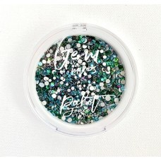 Picket Fence Studios - Oceans of Green Gem Mix