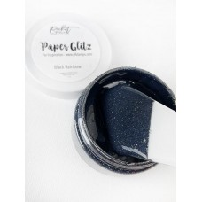 Picket Fence Studios - Paper Glitz - Black Rainbow