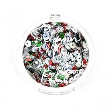 Picket Fence Studios - O' Christmas Tree Sequin Mix