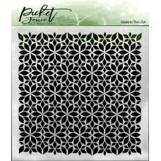 Picket Fence Studios - Flowers Stencil