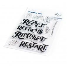 Pinkfresh Studio - Reset stamp set
