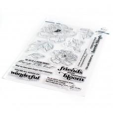 Pinkfresh Studio - Friendship Blooms stamp set