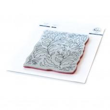 Pinkfresh Studio - Folk Garden cling stamp