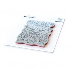 Pinkfresh Studio - Folk Art Birds cling stamp