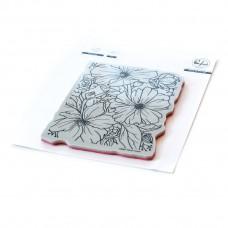 Pinkfresh Studio - Floral Focus cling stamp