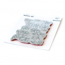 Pinkfresh Studio - Bougainvillea Print cling stamp