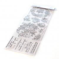 Pinkfresh Studio - Painted Peony Mix Stamp