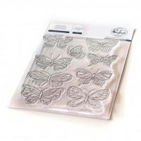 Pinkfresh Studio - Small Butterflies stamp set