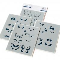 Pinkfresh Studio - Small Butterflies stencil