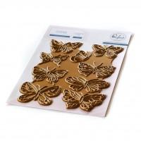 Pinkfresh Studio - Small Butterflies hot foil plate