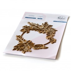 Pinkfresh Studio - Daisy Wreath hot foil plate