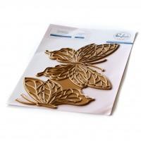 Pinkfresh Studio - Butterflies hot foil plate