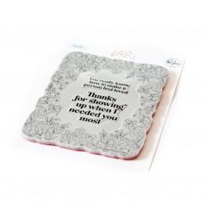Pinkfresh Studio - Happy Blooms Frame cling stamp